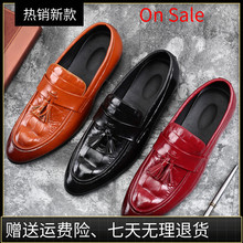 обувь Loafers Shoes Men 休闲男鞋 Soft Leather 皮 Casual
