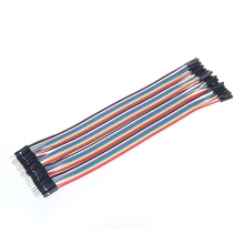 20cm Jumper Female Cable 40pcs 2.54mm Dupont Male Wire
